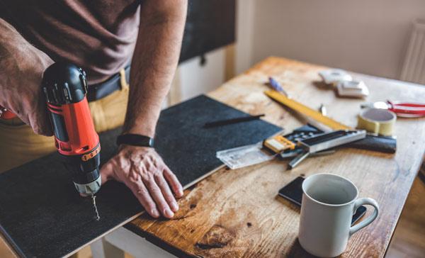 Renovering av villor, radhus och lägenheter