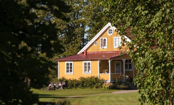 utbyggnad av villa i Stockholm